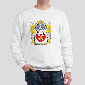 Hartshorn Coat of Arms - Family Crest Sweatshirt
