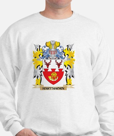 Hartshorn Coat of Arms - Family Crest Jumper