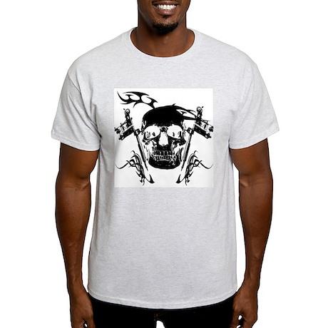 Inked Skull Light T-Shirt