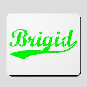 Vintage Brigid (Green) Mousepad