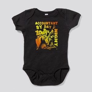 Accountant By Day Zombie By Night T Shir Body Suit
