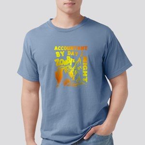 Accountant By Day Zombie By Night T Shirt T-Shirt