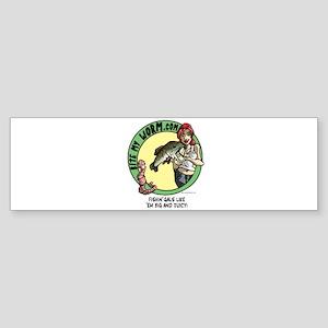 Slinkys Fishin Gals Bumper Sticker