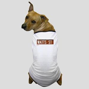 Watts Street in NY Dog T-Shirt
