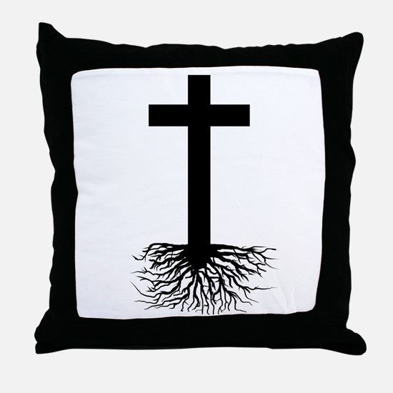 Rooted In Christ Throw Pillow