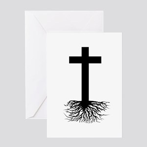 Rooted In Christ Greeting Card