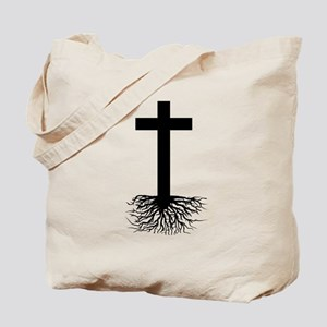 Rooted In Christ Tote Bag
