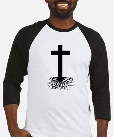 Rooted In Christ Baseball Jersey