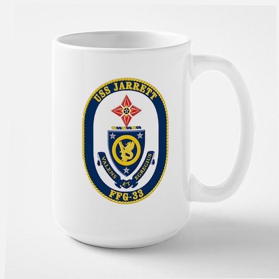 USS JARRETT Large Mug