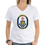 USS JARRETT Women's V-Neck T-Shirt