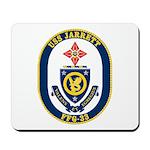 USS JARRETT Mousepad