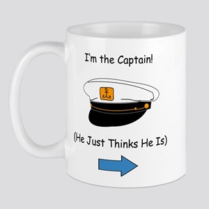 I'm the Captain Mug