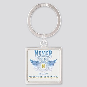 never underestimate the power of North k Keychains