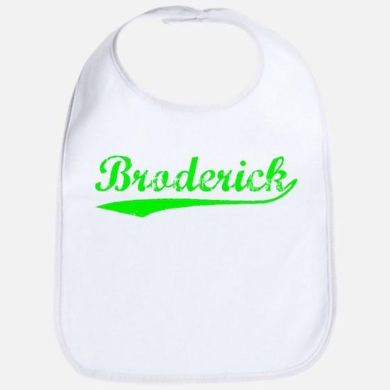 Vintage Broderick (Green) Bib
