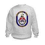 USS JOHN L. HALL Kids Sweatshirt