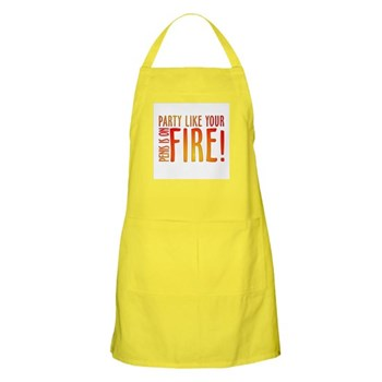 Party Like Your Penis is on Fire Apron