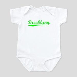 Vintage Brooklynn (Green) Infant Bodysuit