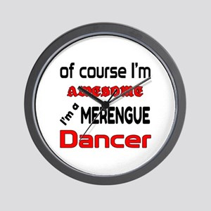 I am a Merengue dancer Wall Clock
