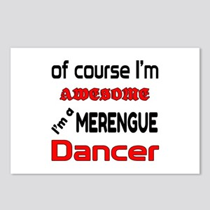 I am a Merengue dancer Postcards (Package of 8)