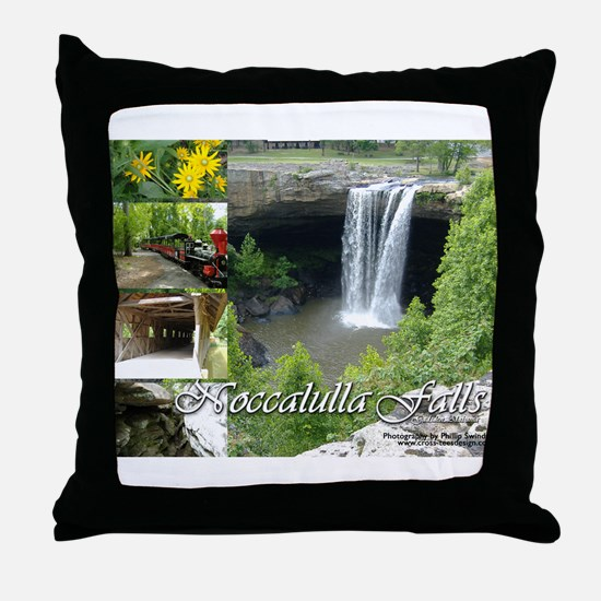 Noccalulla Falls Throw Pillow