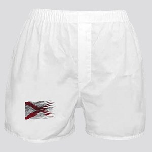 Wavy Northern Ireland Flag Grunged Boxer Shorts
