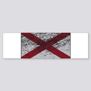 Northern Ireland Flag Grunged Bumper Sticker
