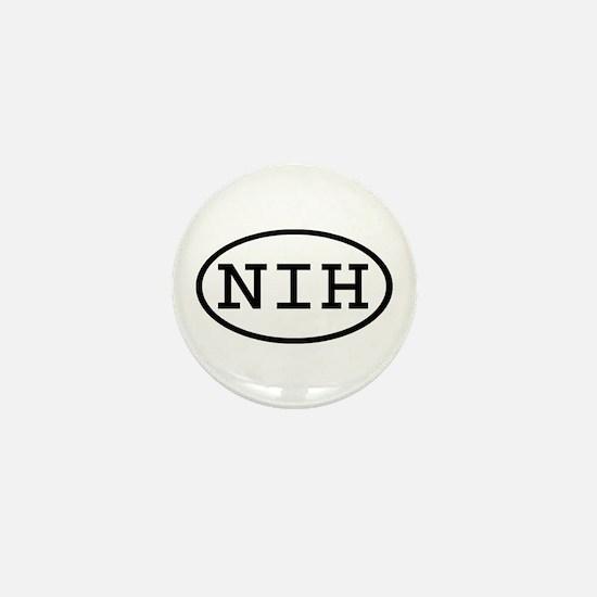 NIH Oval Mini Button