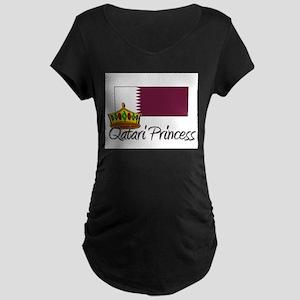 Qatari Princess Maternity Dark T-Shirt