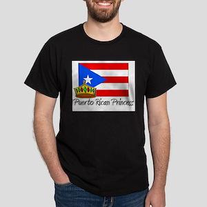 Puerto Rican Princess Dark T-Shirt
