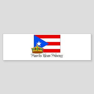 Puerto Rican Princess Bumper Sticker