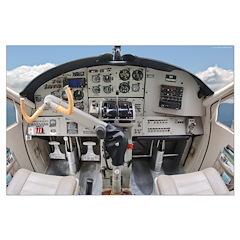 Cockpit Poster