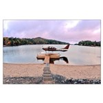 Sunrise in Long Lake Poster