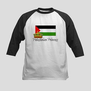 Palestinian Princess Kids Baseball Jersey