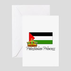 Palestinian Princess Greeting Card