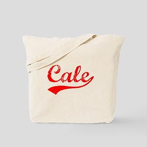 Vintage Cale (Red) Tote Bag