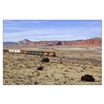 Train East of Gallup Poster