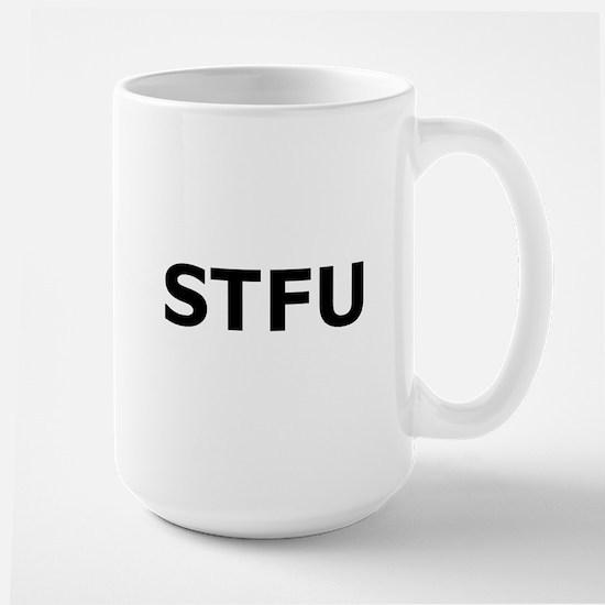 STFU Large Mug