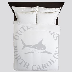 Summer outer banks- North Carolina Queen Duvet