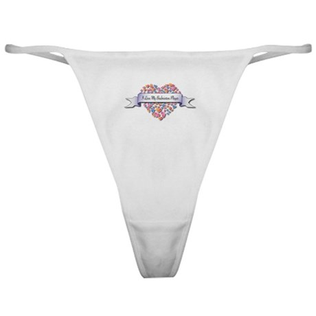 Love My Badminton Player Classic Thong