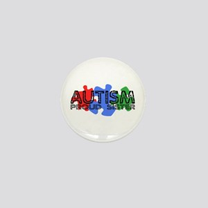 Autism - Proud Sis Mini Button