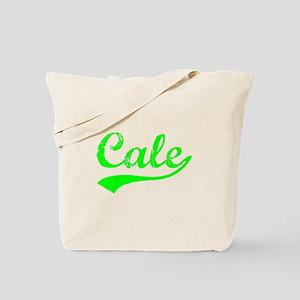 Vintage Cale (Green) Tote Bag