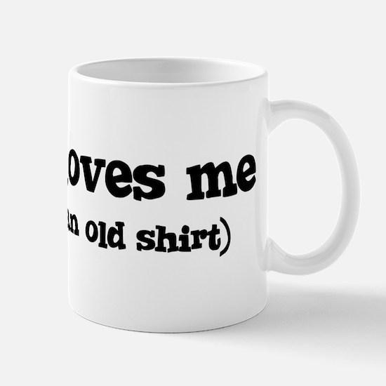 Mariah loves me Mug