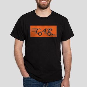 Car Logo Black White Orange T-Shirt