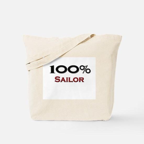 100 Percent Sailor Tote Bag