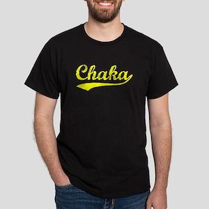 Vintage Chaka (Gold) Dark T-Shirt
