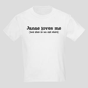 Janae loves me Kids Light T-Shirt
