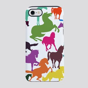 Rainbow Horses iPhone 8/7 Tough Case
