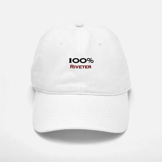 100 Percent Riveter Baseball Baseball Cap