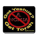 Got Yeshua? Get Torah. Mousepad