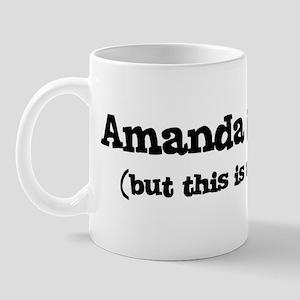 Amanda loves me Mug